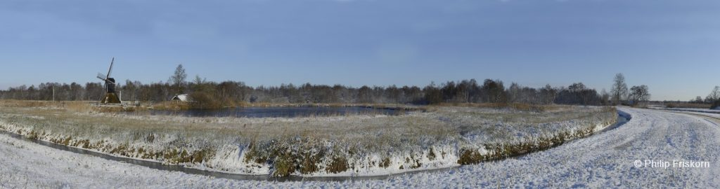 Winter in de Weerribben